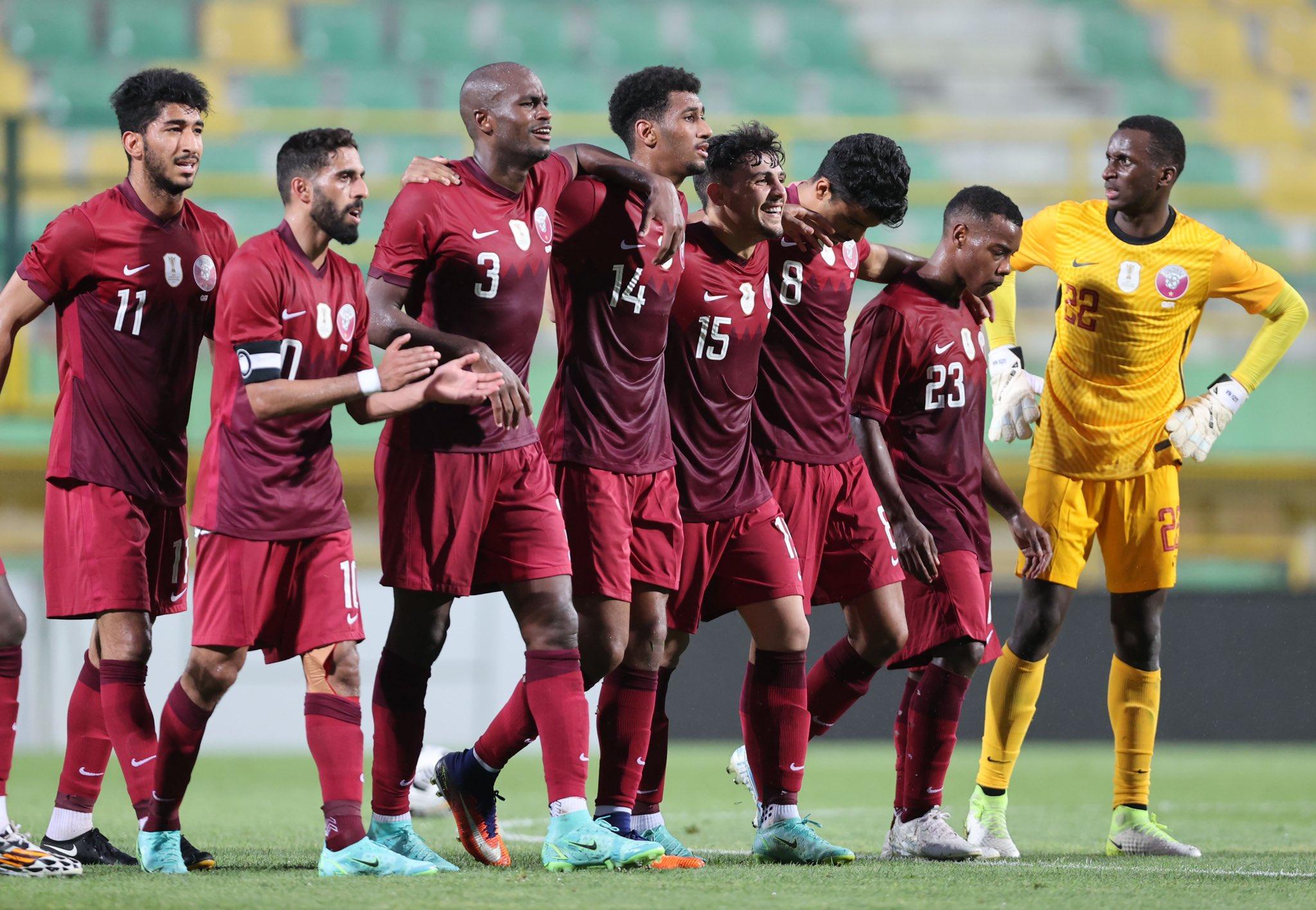 Qatar Wins Friendly Match against El Salvador