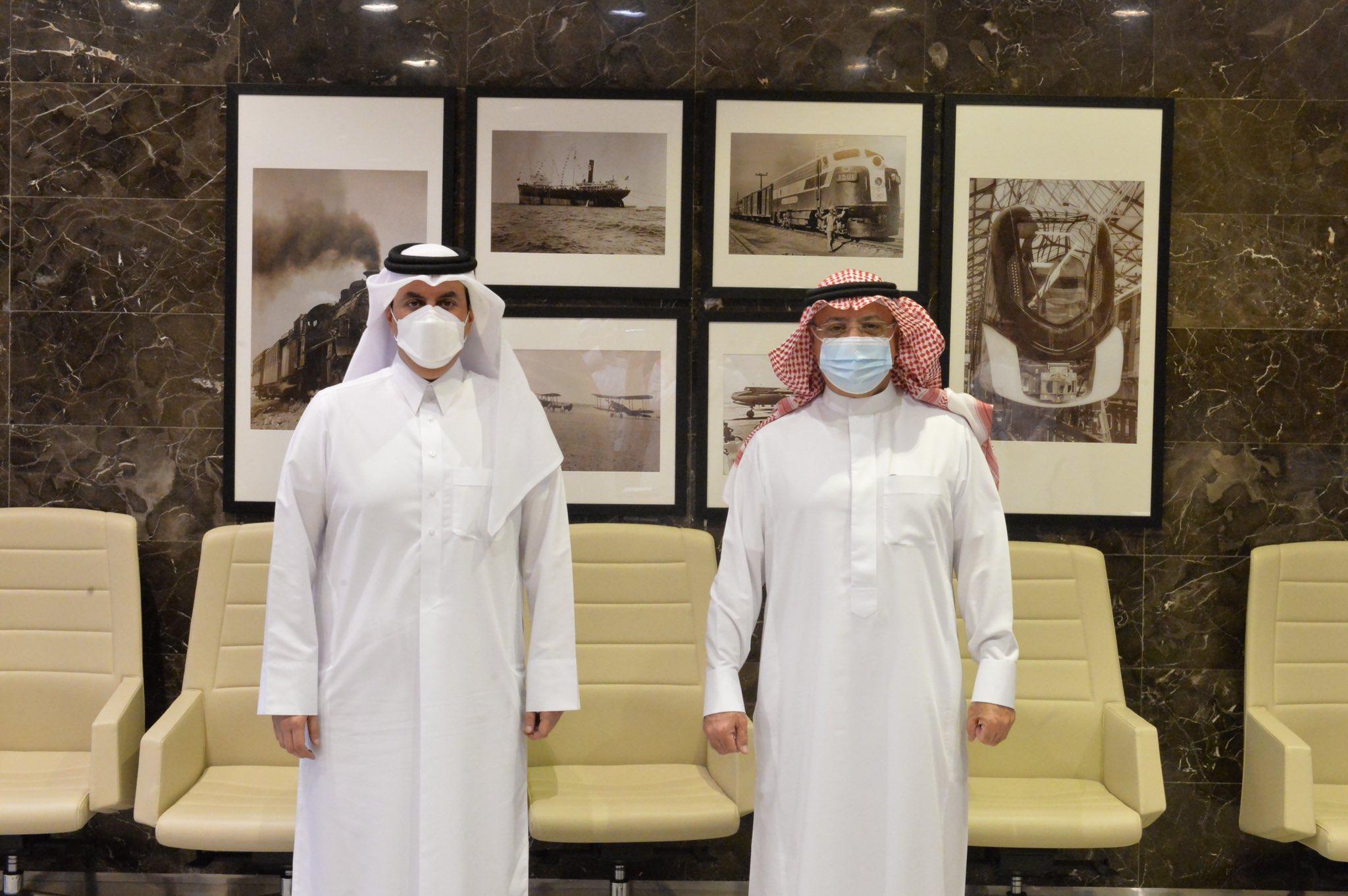 President of Qatar CAA Meets Saudi Counterpart