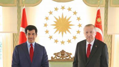 Turkish President Meets Ambassador of State of Qatar
