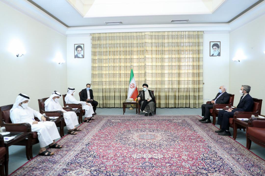 Iranian President-Elect Meets Foreign Minister