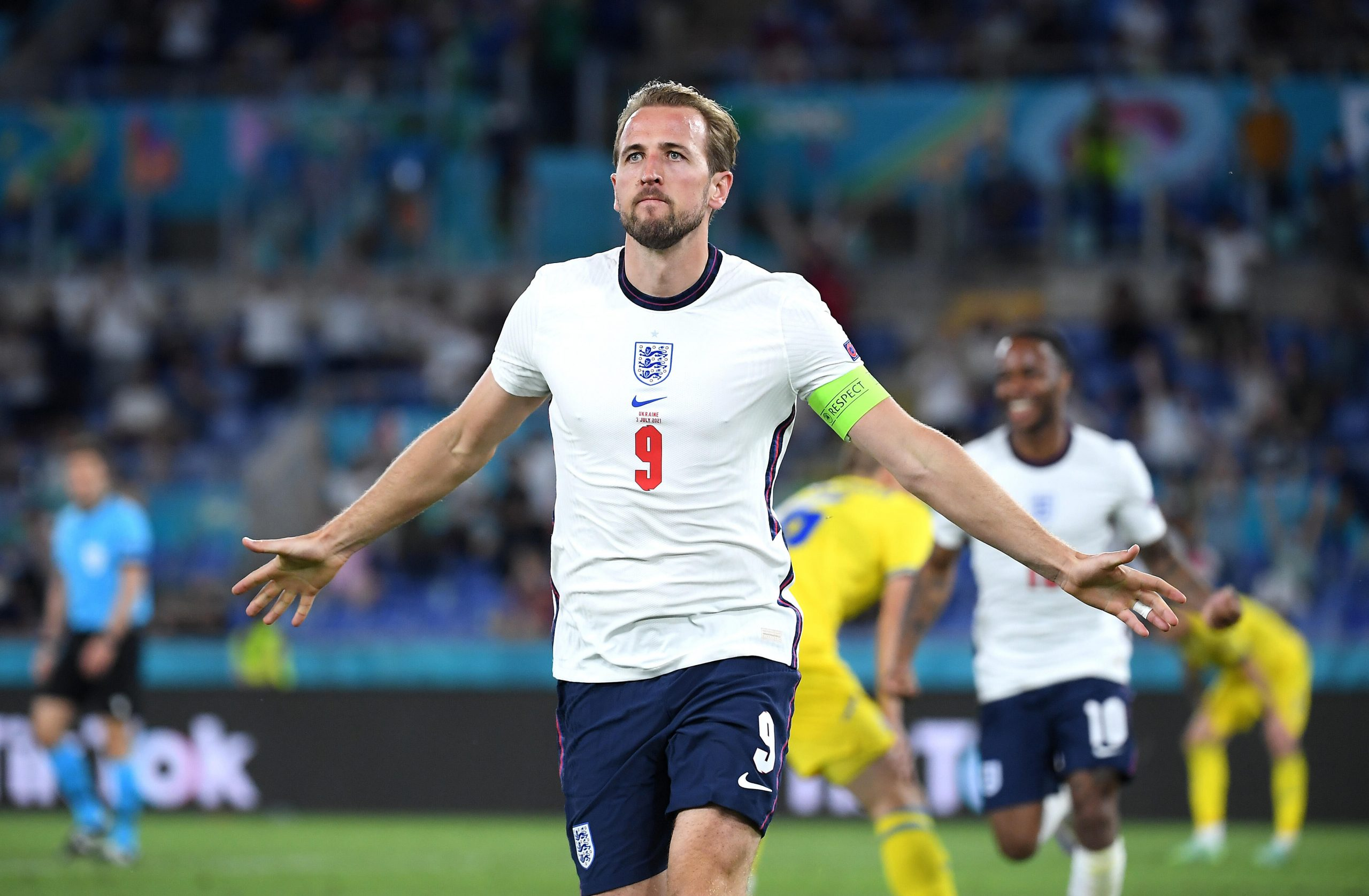 Euro 2020: Kane leads England to the final for the first time