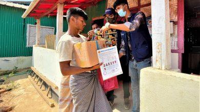 Food aid for 7,062 Rohingya families