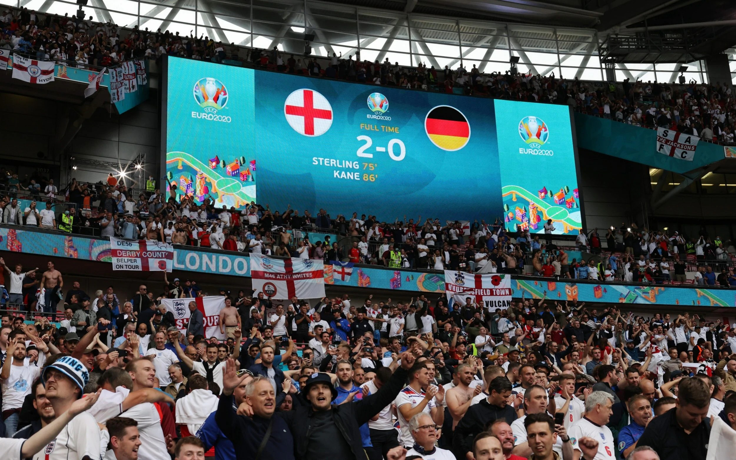 Euro 2020 crowds driving rise in COVID-19 infections, says WHO