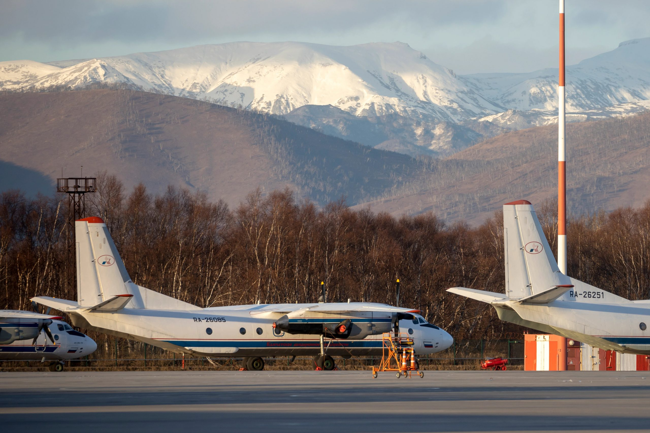 Plane with 28 People on Board Disappears from Radar in Russia's Far East