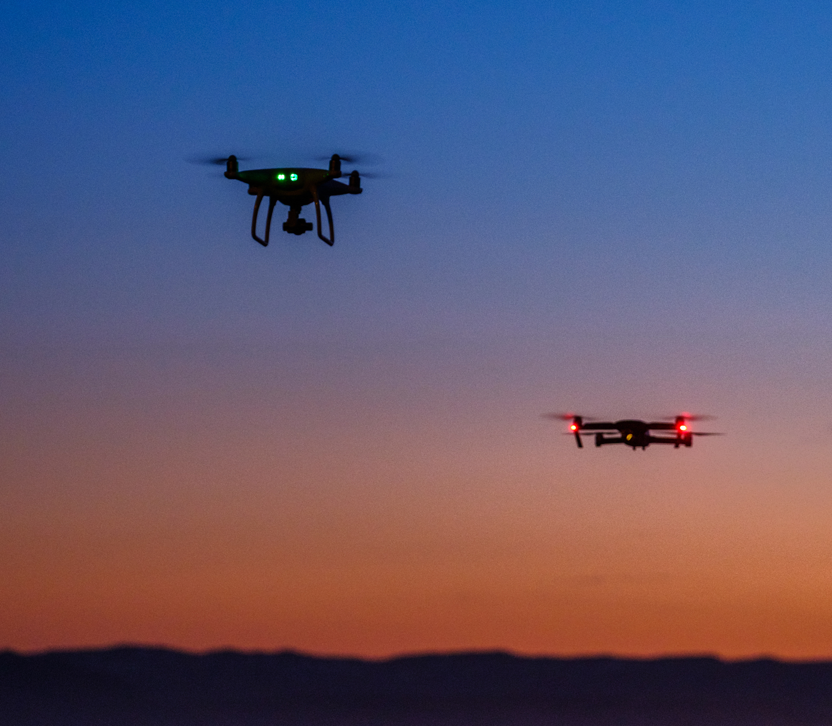 Drone with microphones to monitor human screams in disasters