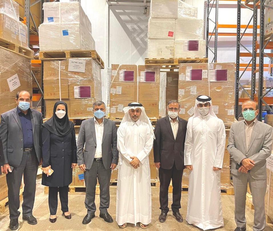 QFFD Sends Urgent Medical Aid to Iran
