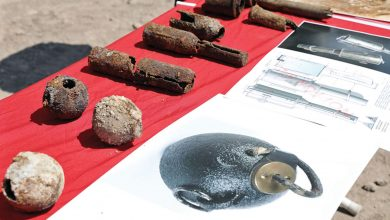782 Ottoman bombs discovered in Turkey