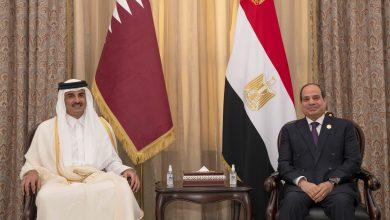 Amir Meets the Egyptian President