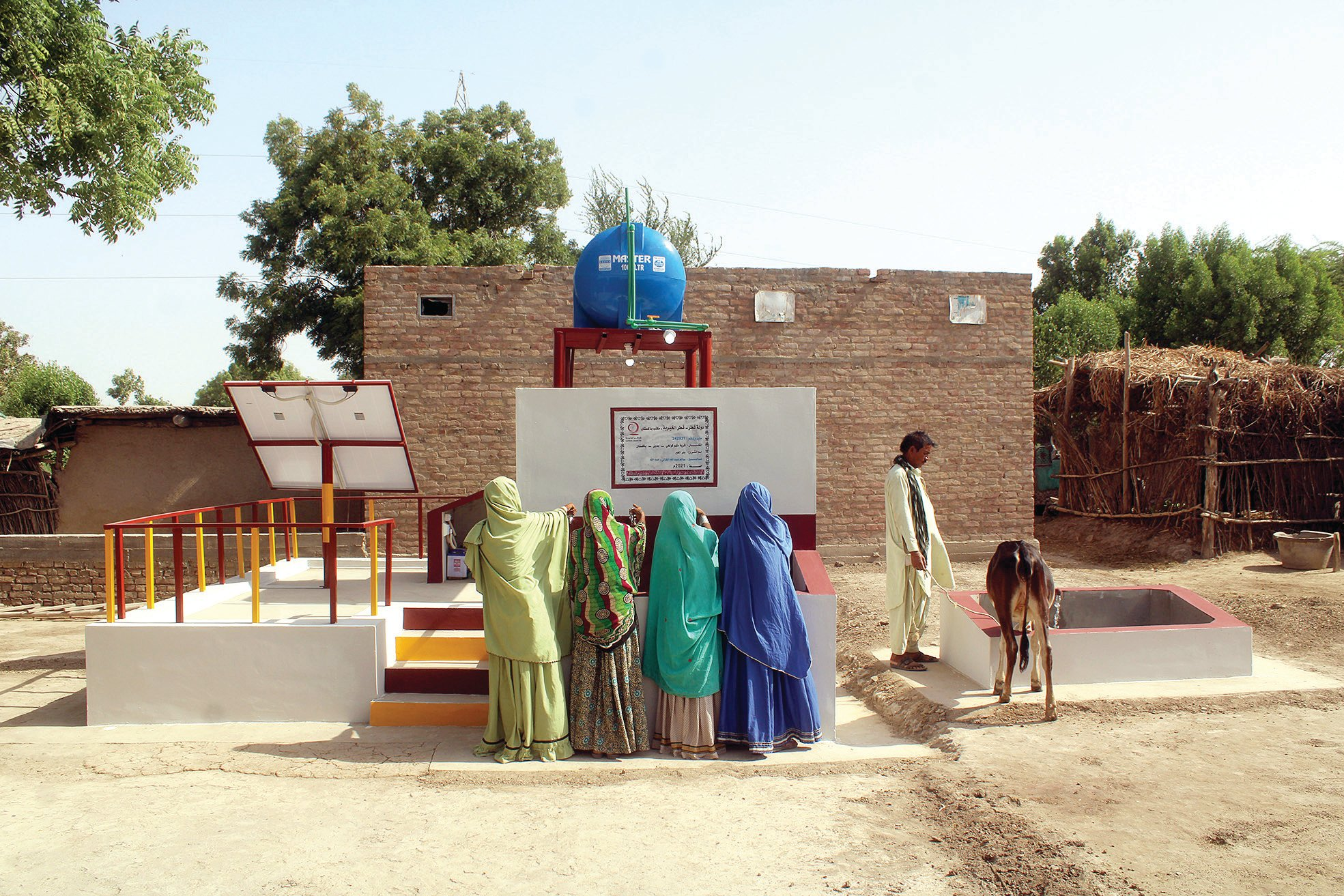 QC Carries Out 209 Water and Sanitation Projects in Pakistan's Sindh Province