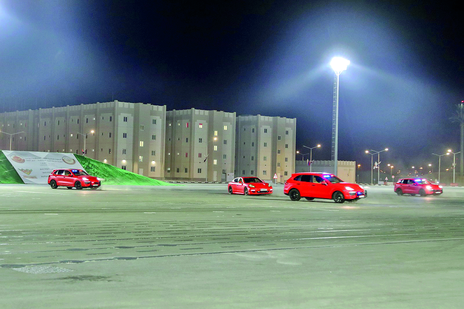 Road Patrol - Qatar 2021 Competition Opens