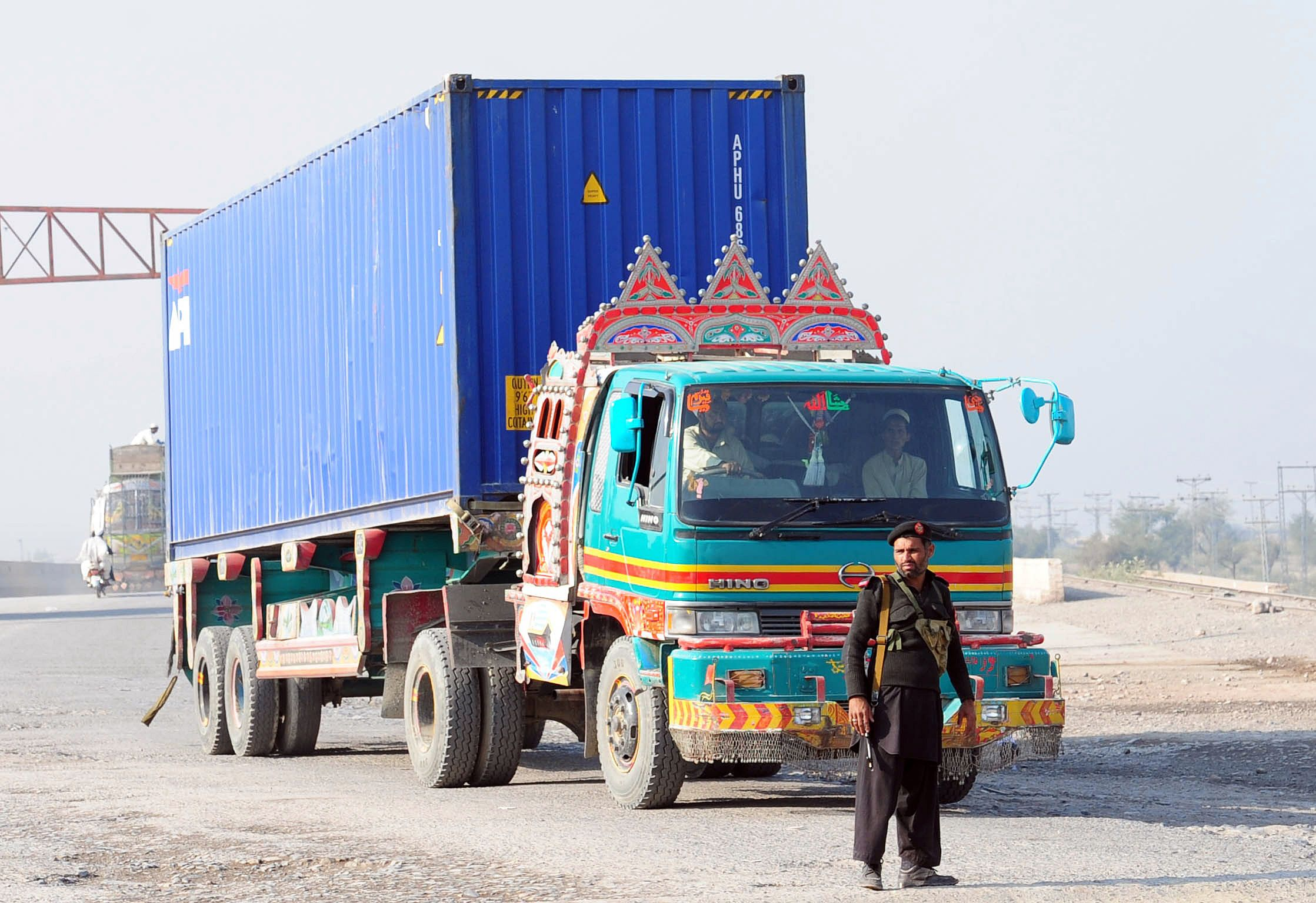 Pakistani truck driver goes to Kabul airport to see 'action', ends up in USA