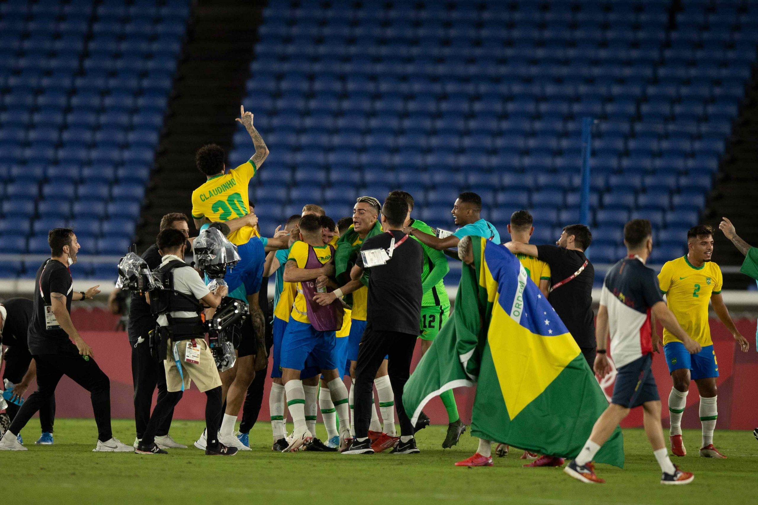 Tokyo 2020: Brazil Beat Spain to Win Mens Football Gold
