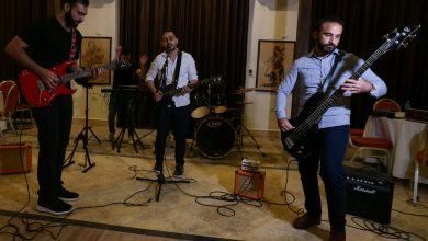 'We'll scream our pain': Gaza's first rock band, Osprey V, takes wing