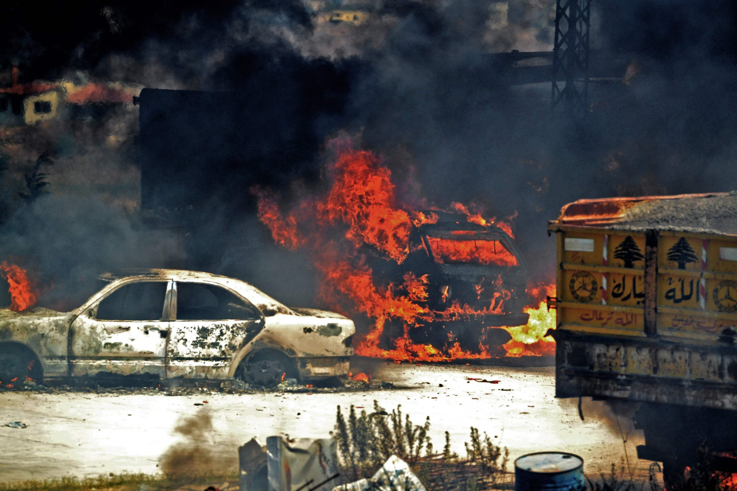 Anger in Lebanon after fuel tank explosion kills 28