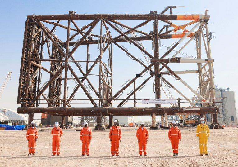 Qatargas Announces Completed Fabrication of Wellhead Platform Jacket