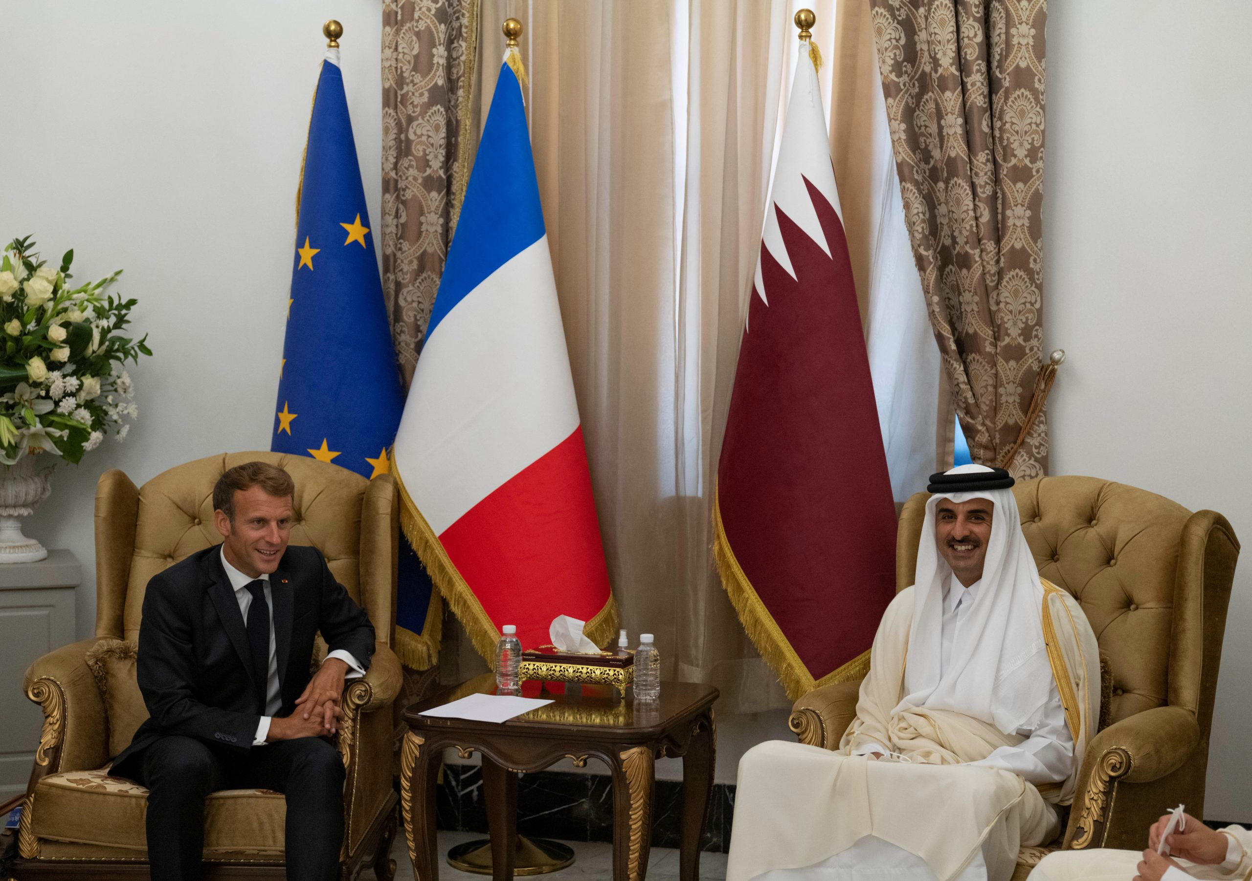 Amir meets the French President