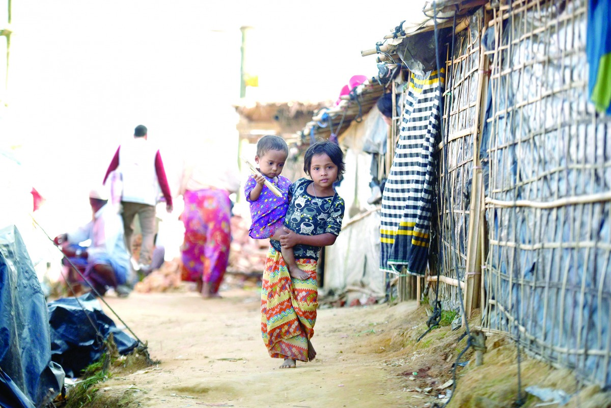 QC rebuilds 537 fire-damaged houses for Rohingya refugees