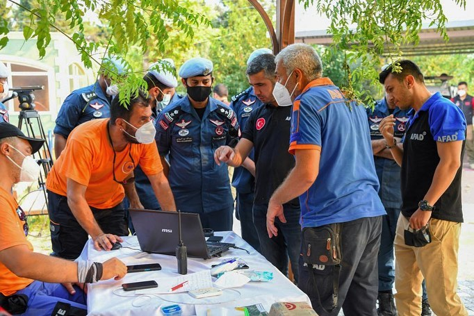Qatar International Search and Rescue Group Begins Its Tasks in Antalya