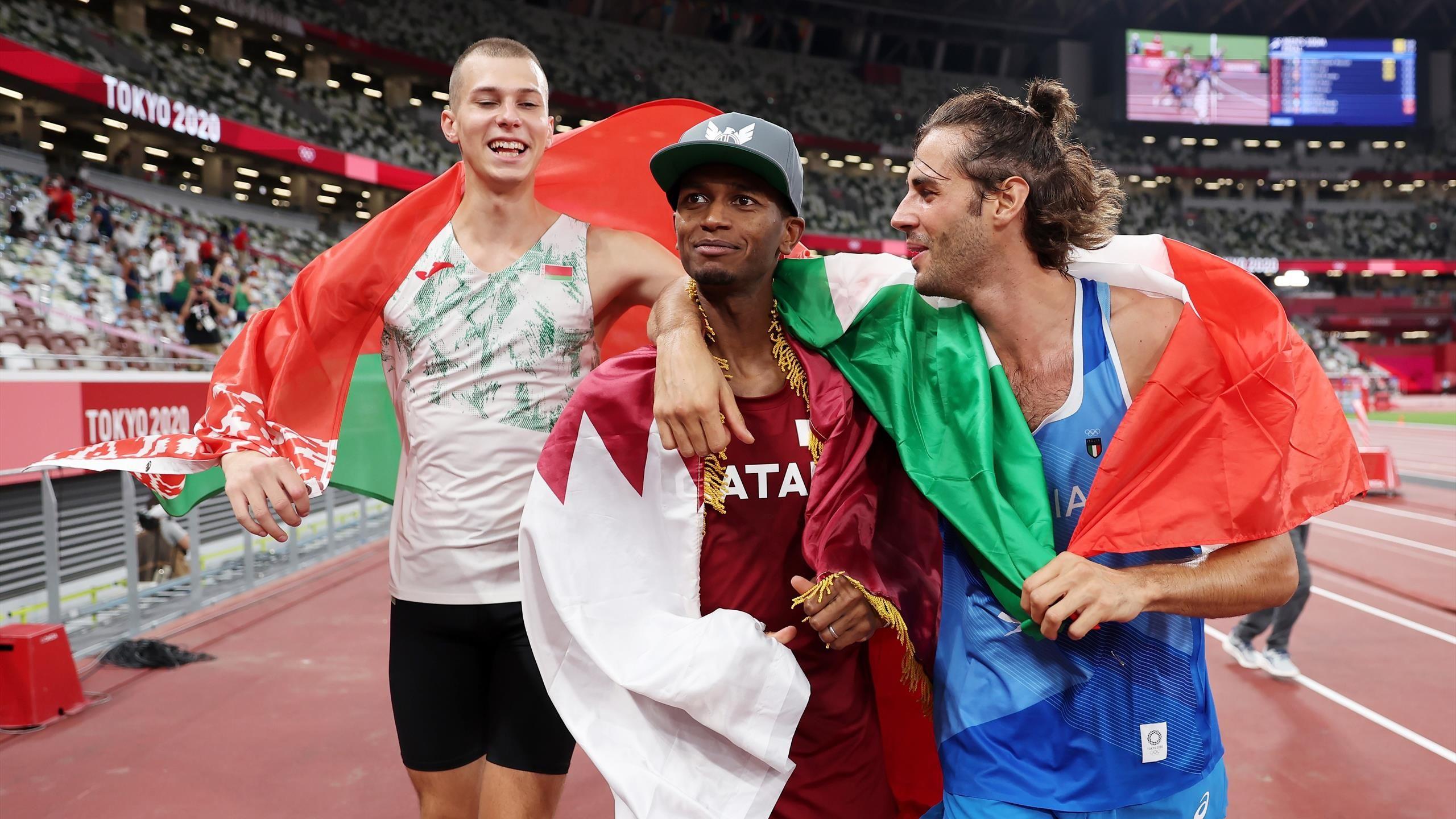 From retirement to gold.. Inspiring story: Mutaz Barshim and Italian rival Gianmarco Tamberi
