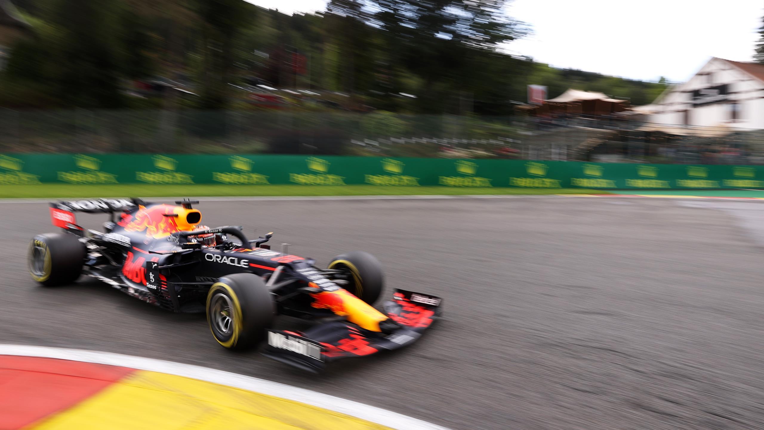 Verstappen Tops Second Practice of Belgian Grand Prix