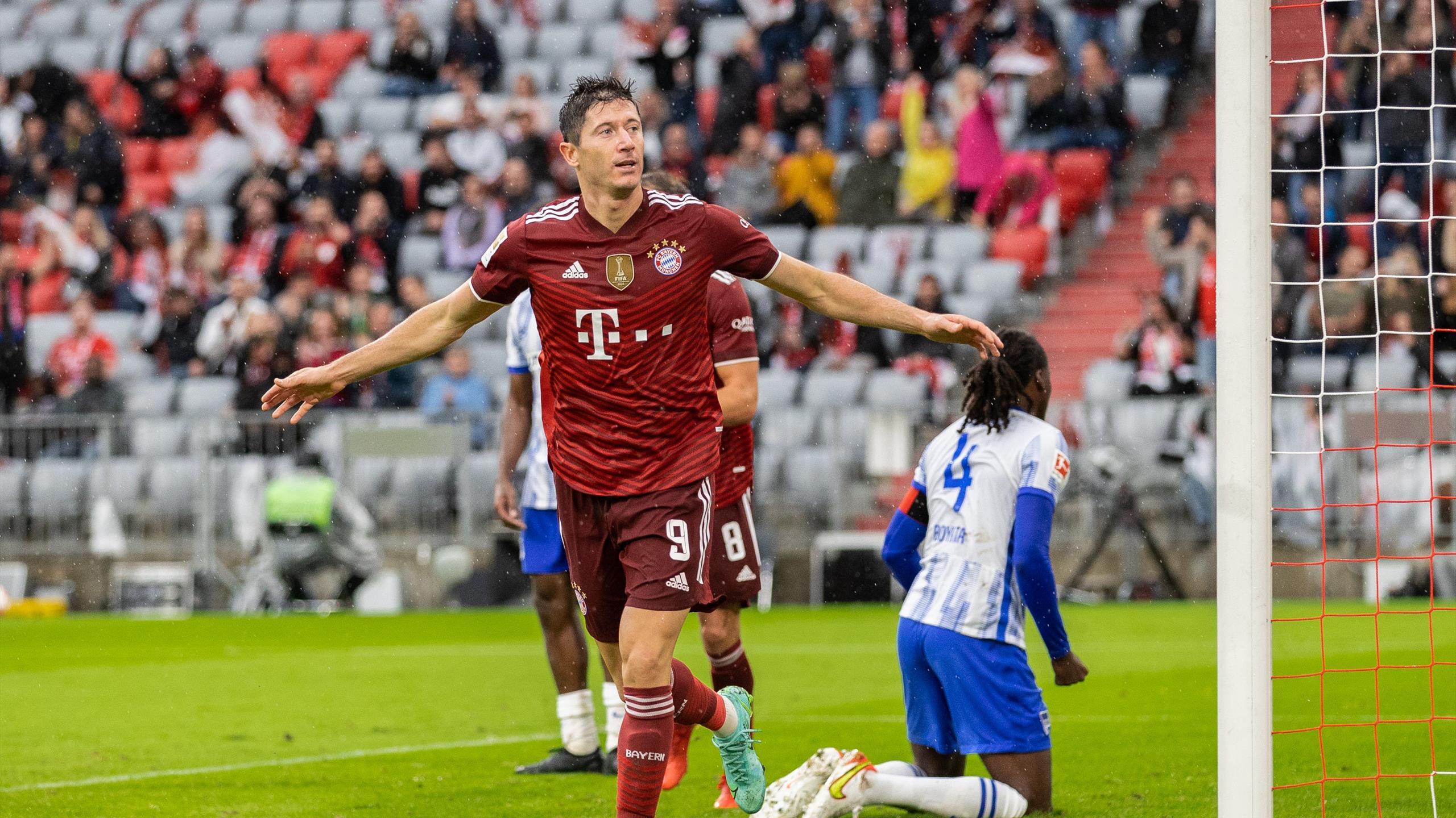 Bundesliga: Bayern Munich Defeat Hertha Berlin 5-0