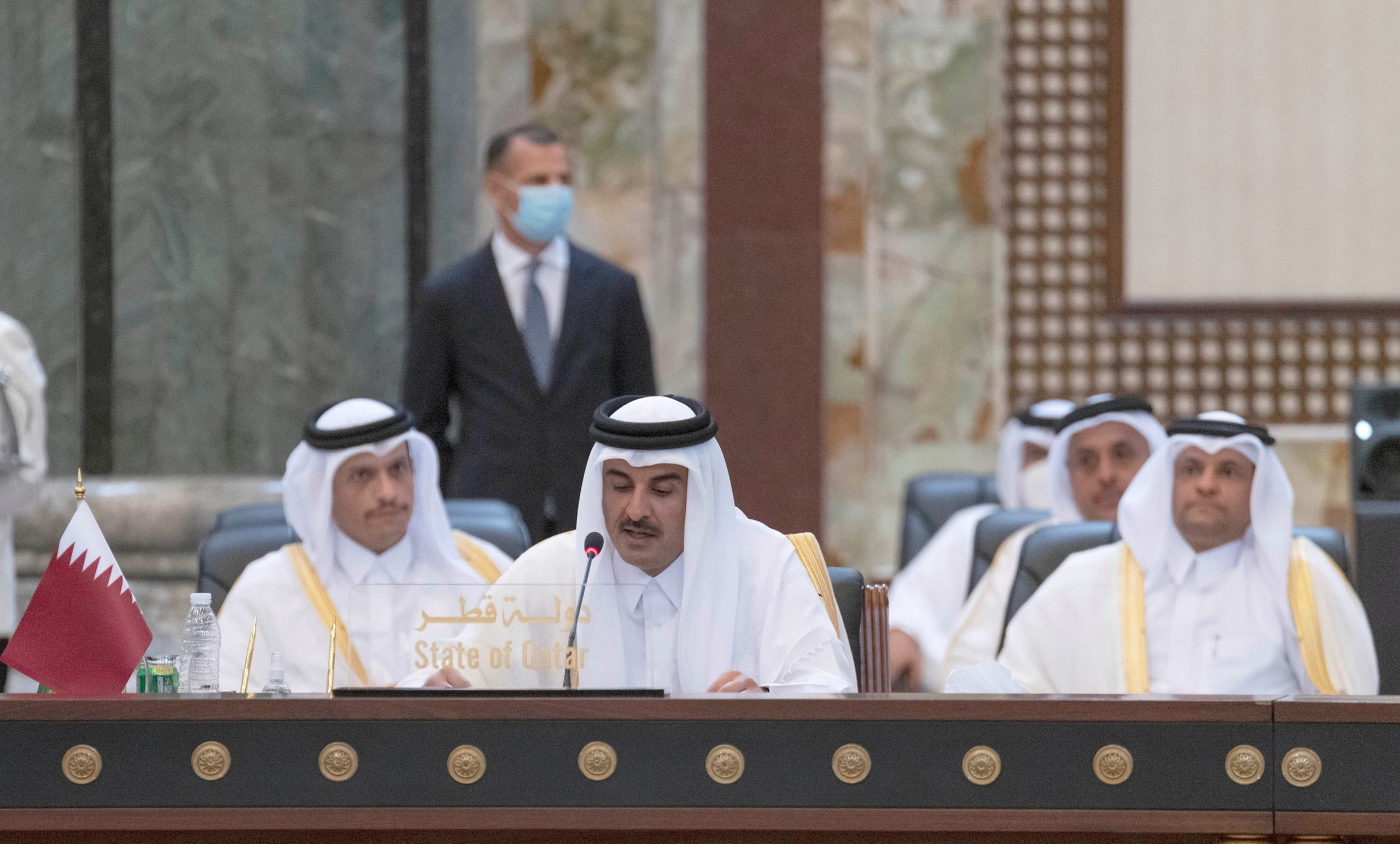 HH the Amir sets a focused road map to strengthen Iraq