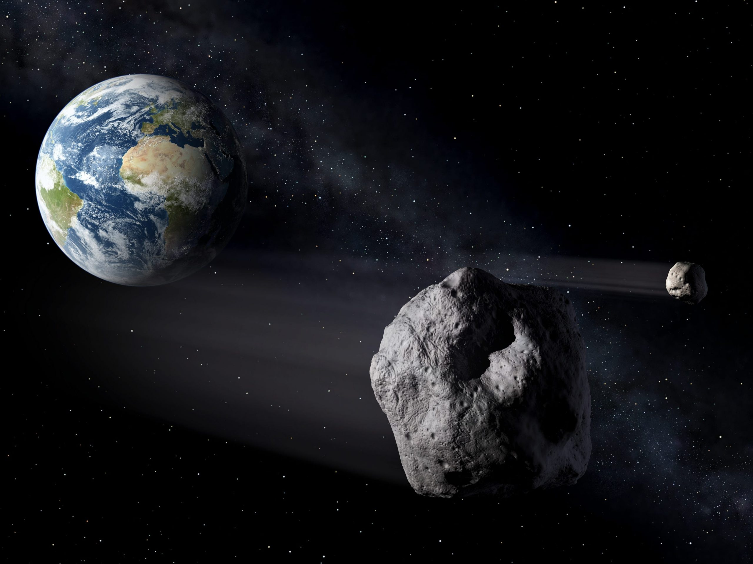 NASA: studies about an asteroid approaching Earth that will make everyone in the world a billionaire