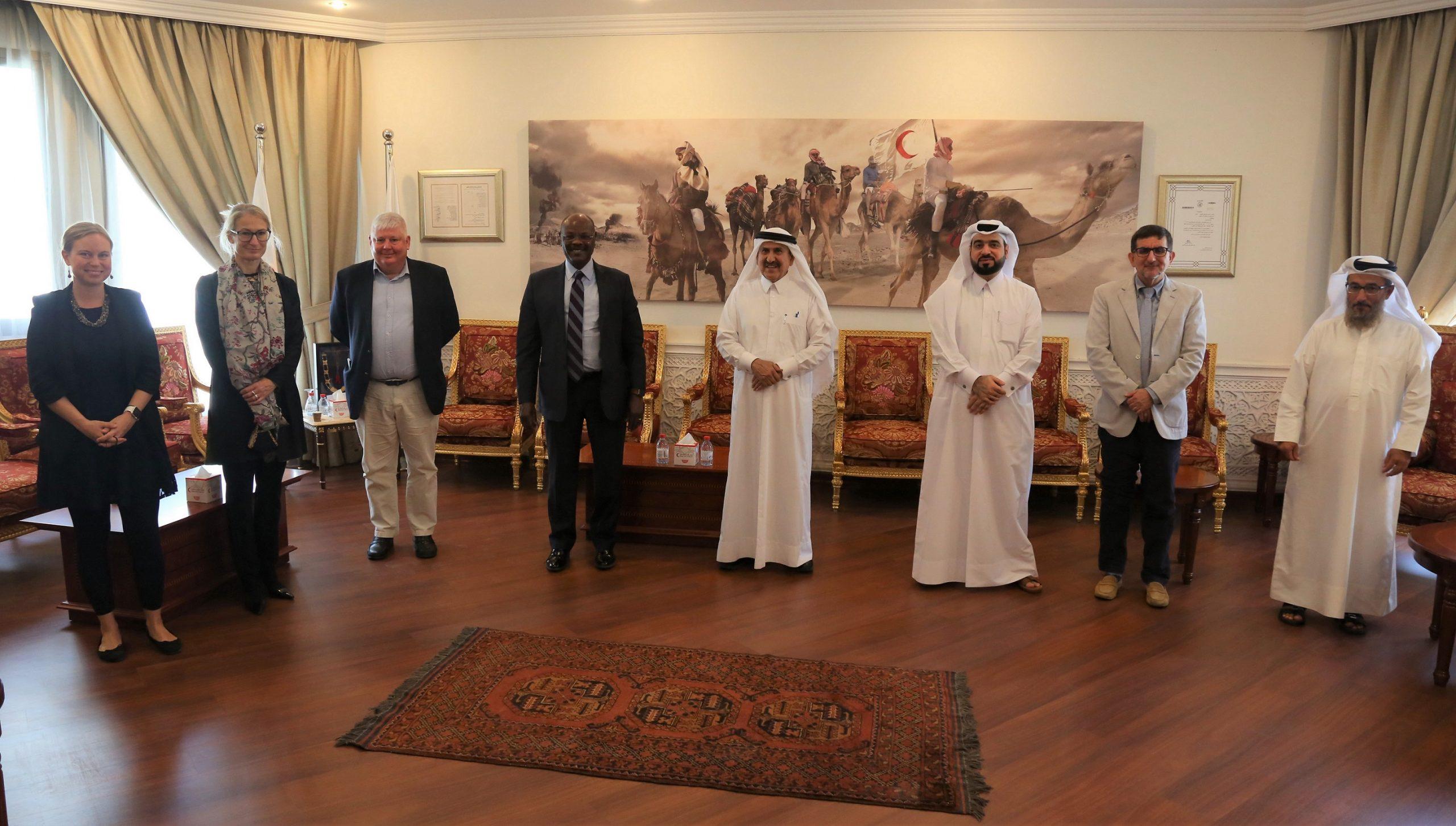 QRCS Strengthens Cooperation with OCHA Somalia