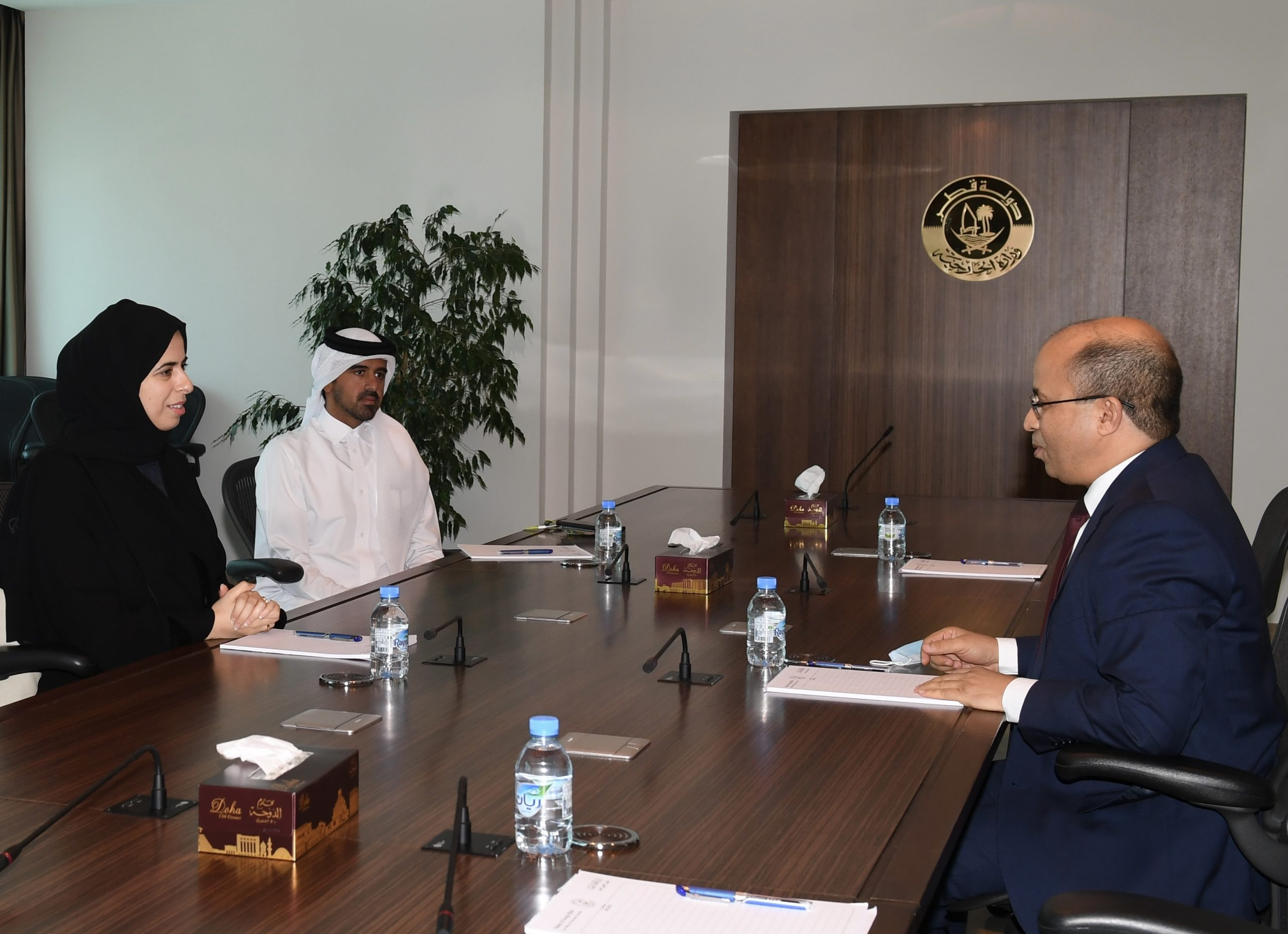 Assistant Foreign Minister Meets Tunisian Ambassador