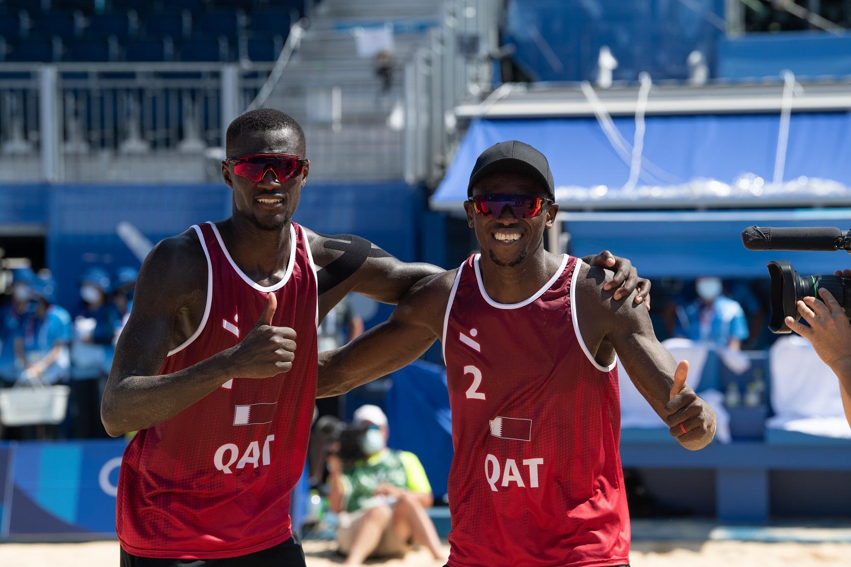 Tokyo 2020: Qatar's Beach Volleyball Team Aspire for Semi-Finals