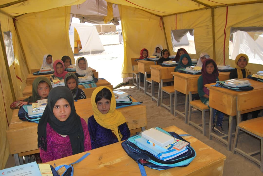 QRCS Starts Phase 3 of Support Education in Remote Areas of Afghanistan Project
