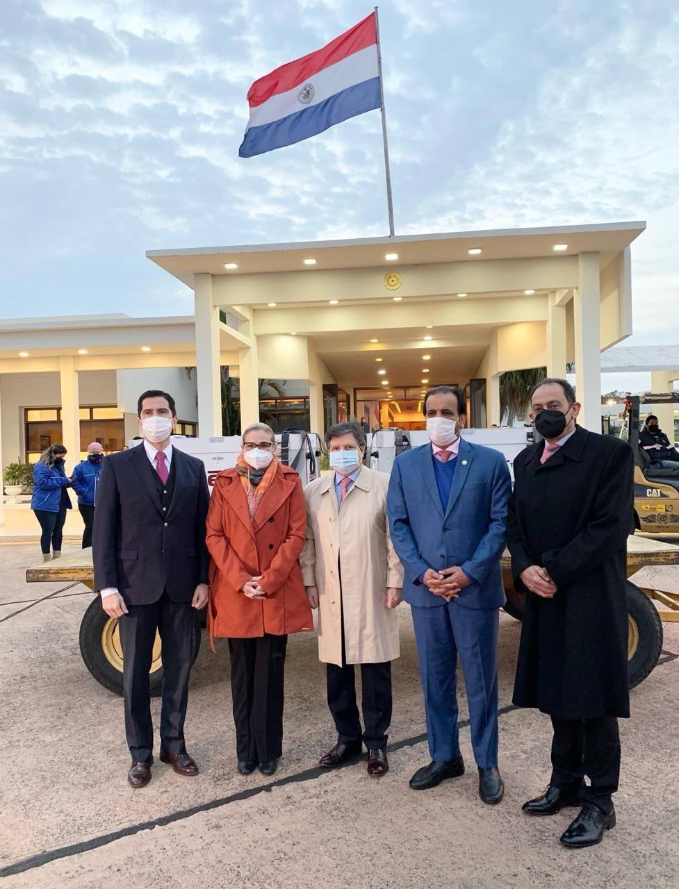 Third Shipment of Qatari Medical Aid Arrives in Paraguay