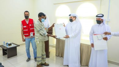 QRCS distributes hygiene kits to 2,000 municipality workers