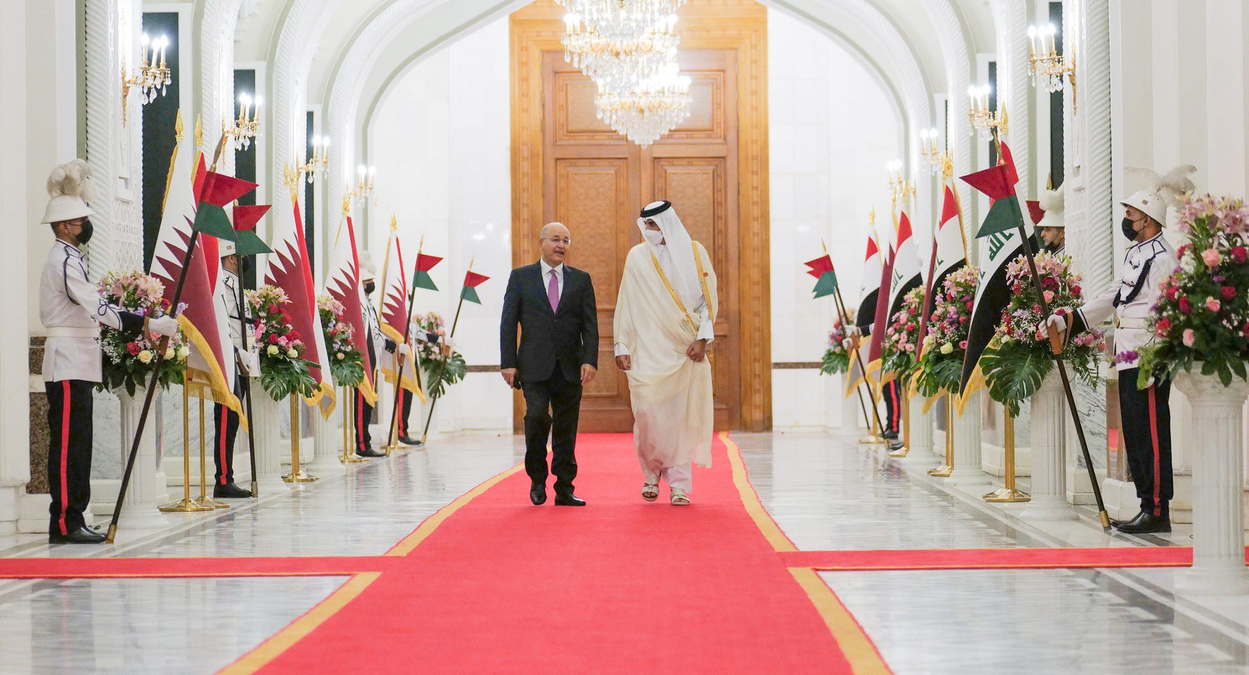 Amir Meets Iraqi President