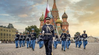 Qatar Participates in Opening of International Military Music Festival in Moscow