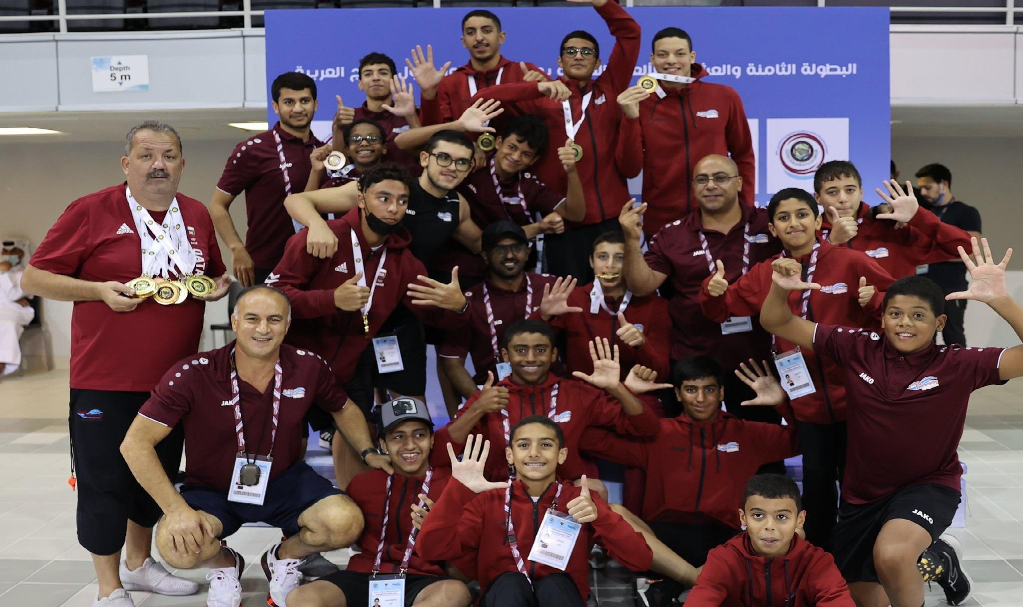 Qatar Secure 28 Medals at Start of GCC Aquatics Championships