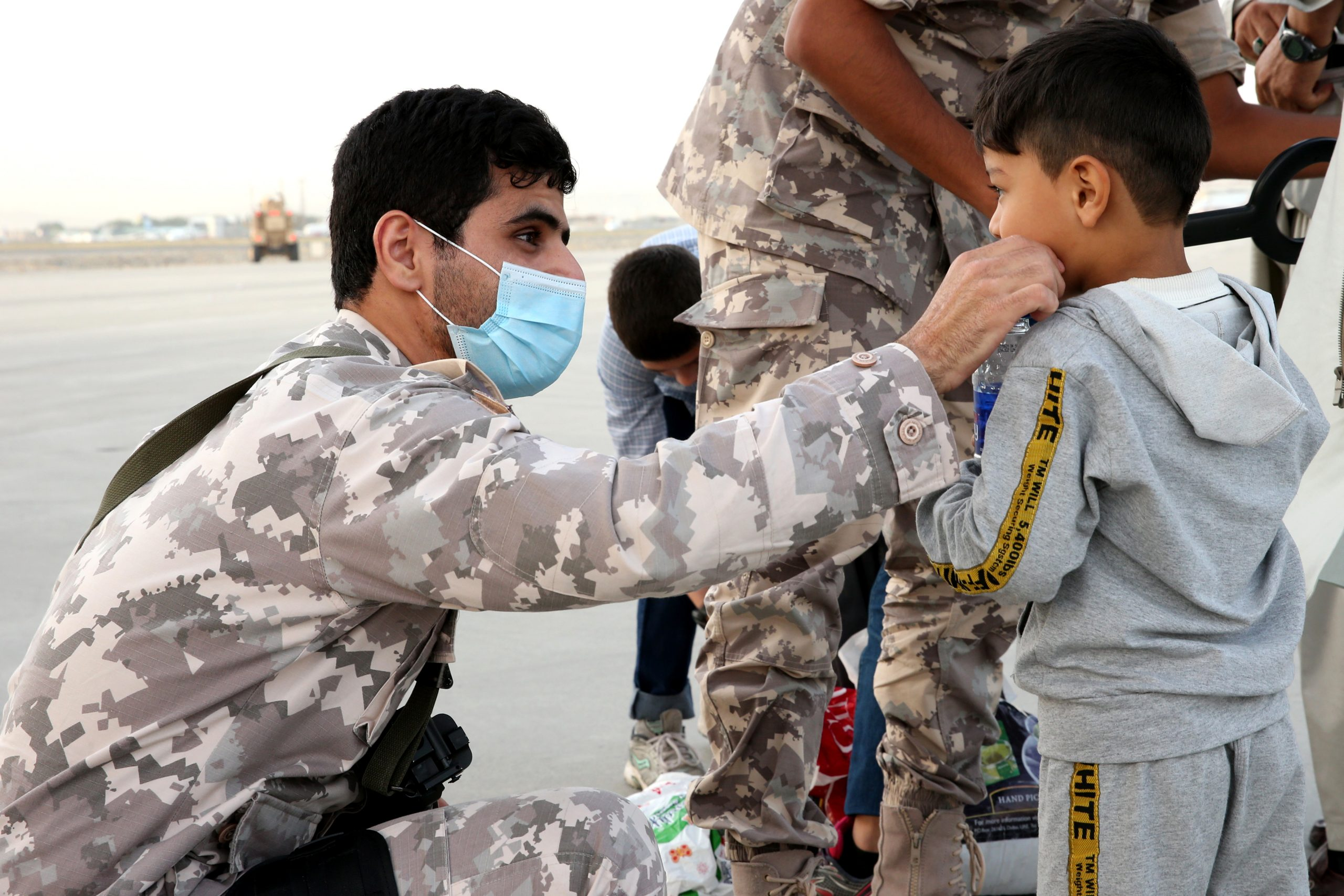 Amiri Air Force has evacuated Afghan citizens, students, foreign diplomats and journalists peacefully