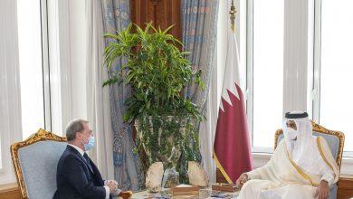 Amir Meets French Ambassador