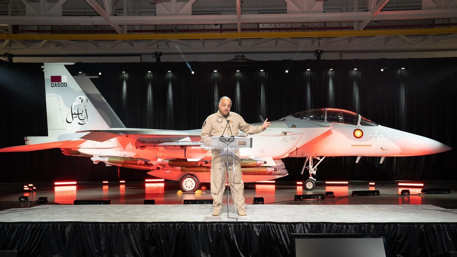 Qatari Aircraft F-15QA Inaugurated in US