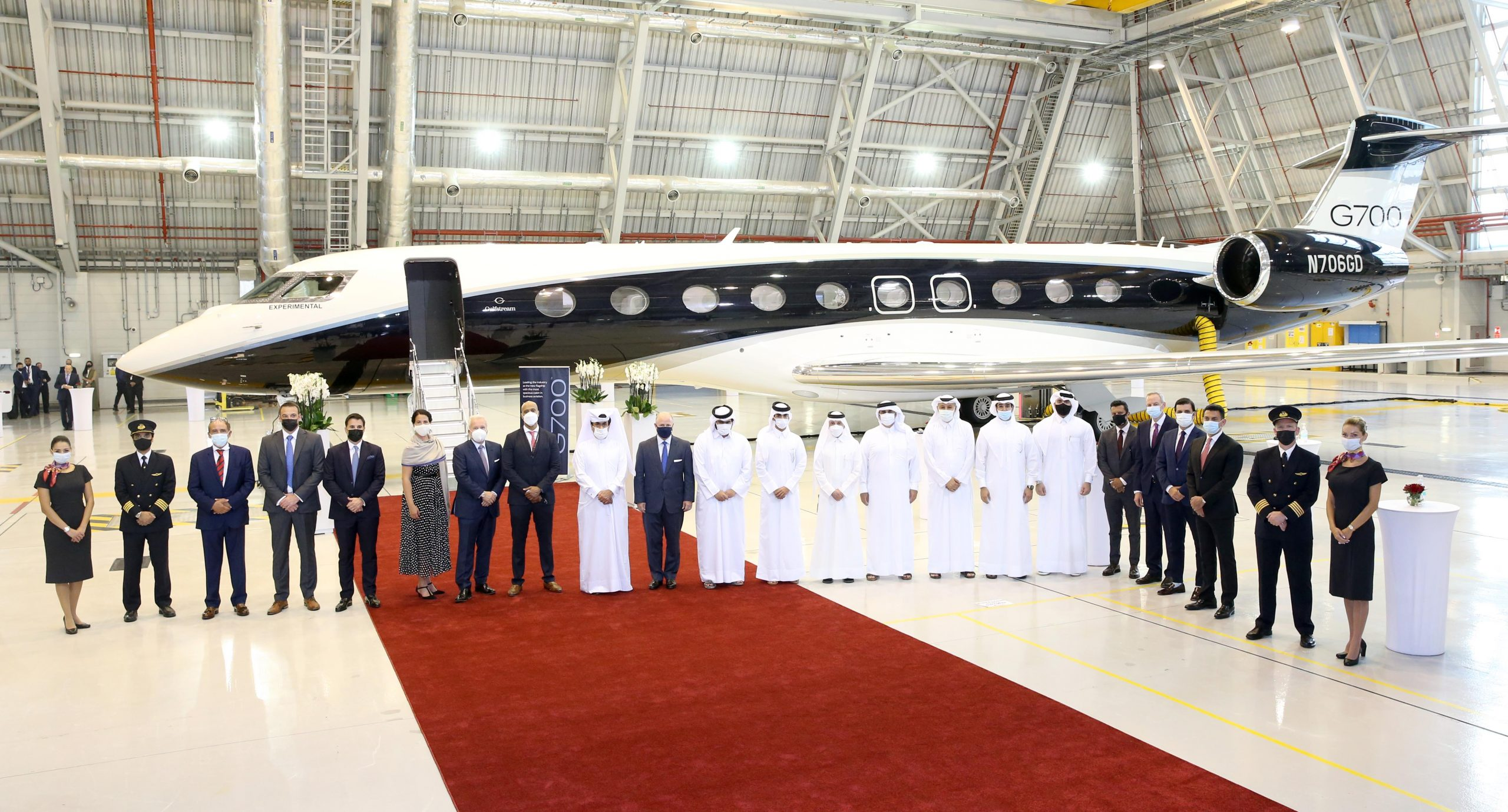 Qatar Executive Showcases Worlds First Gulfstream G700 in Doha