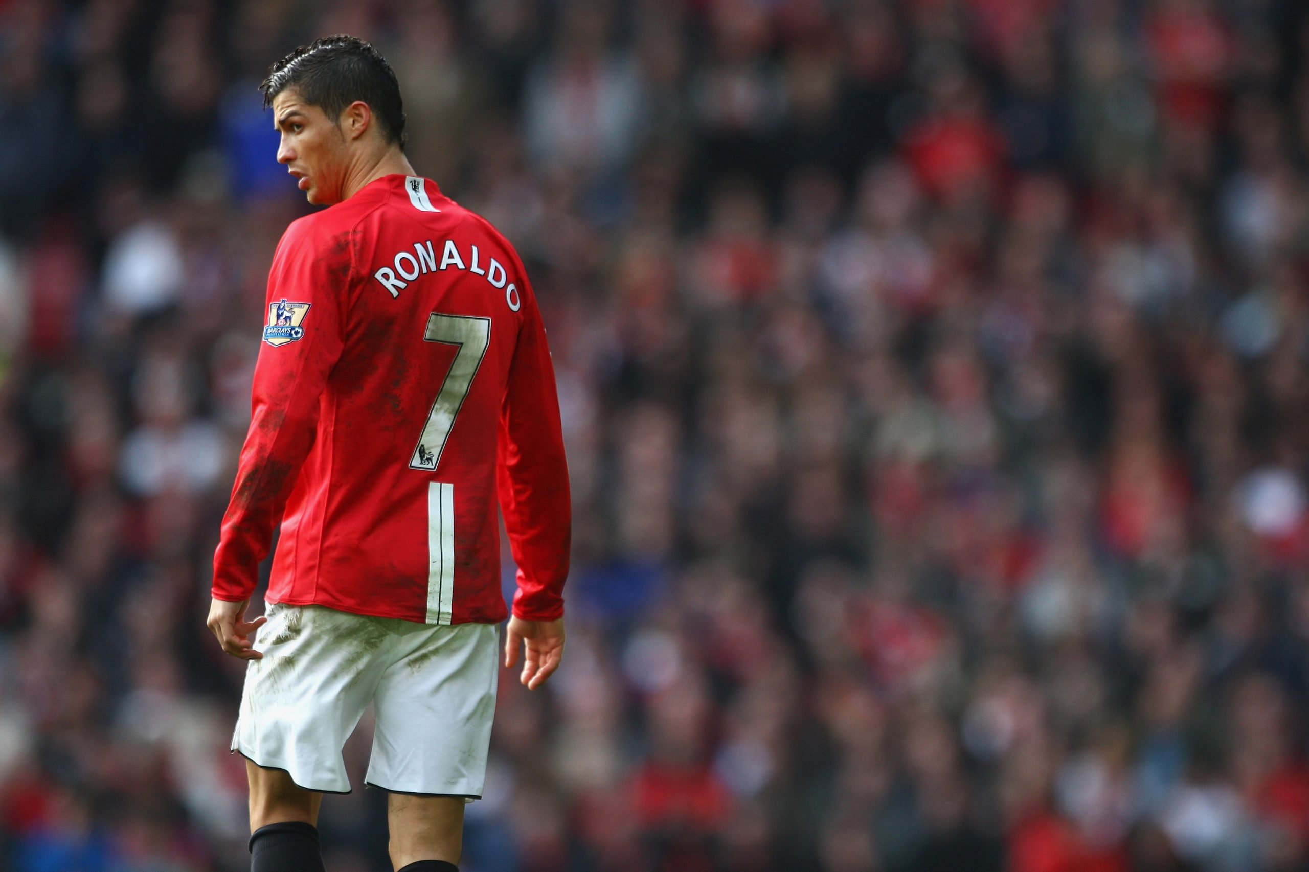 Laws deprive Ronaldo of his favourite Manchester United shirt