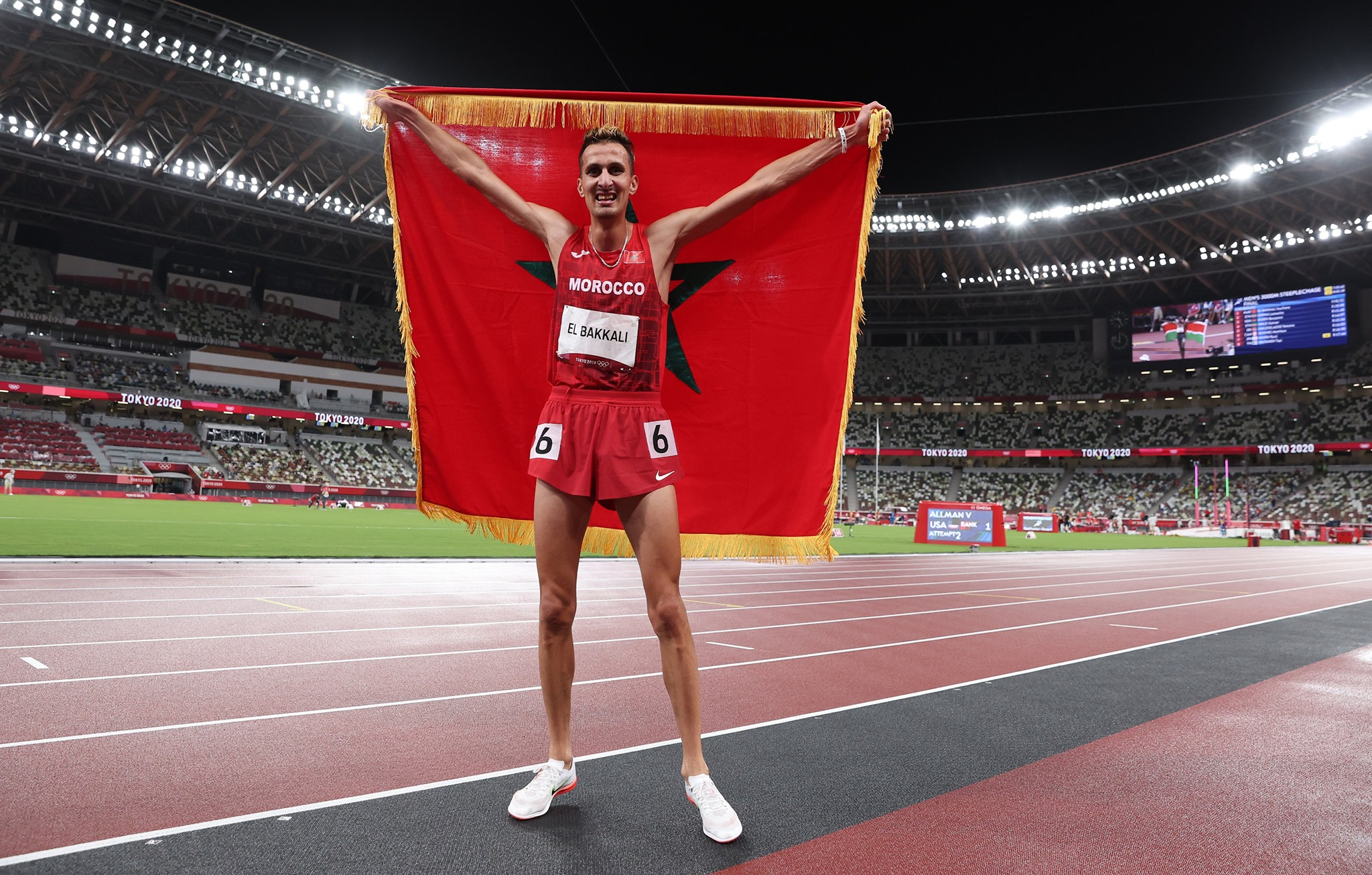 Tokyo 2020: Moroccan Soufiane El Bakkali Wins Gold in Olympic 3000m Steeplechase
