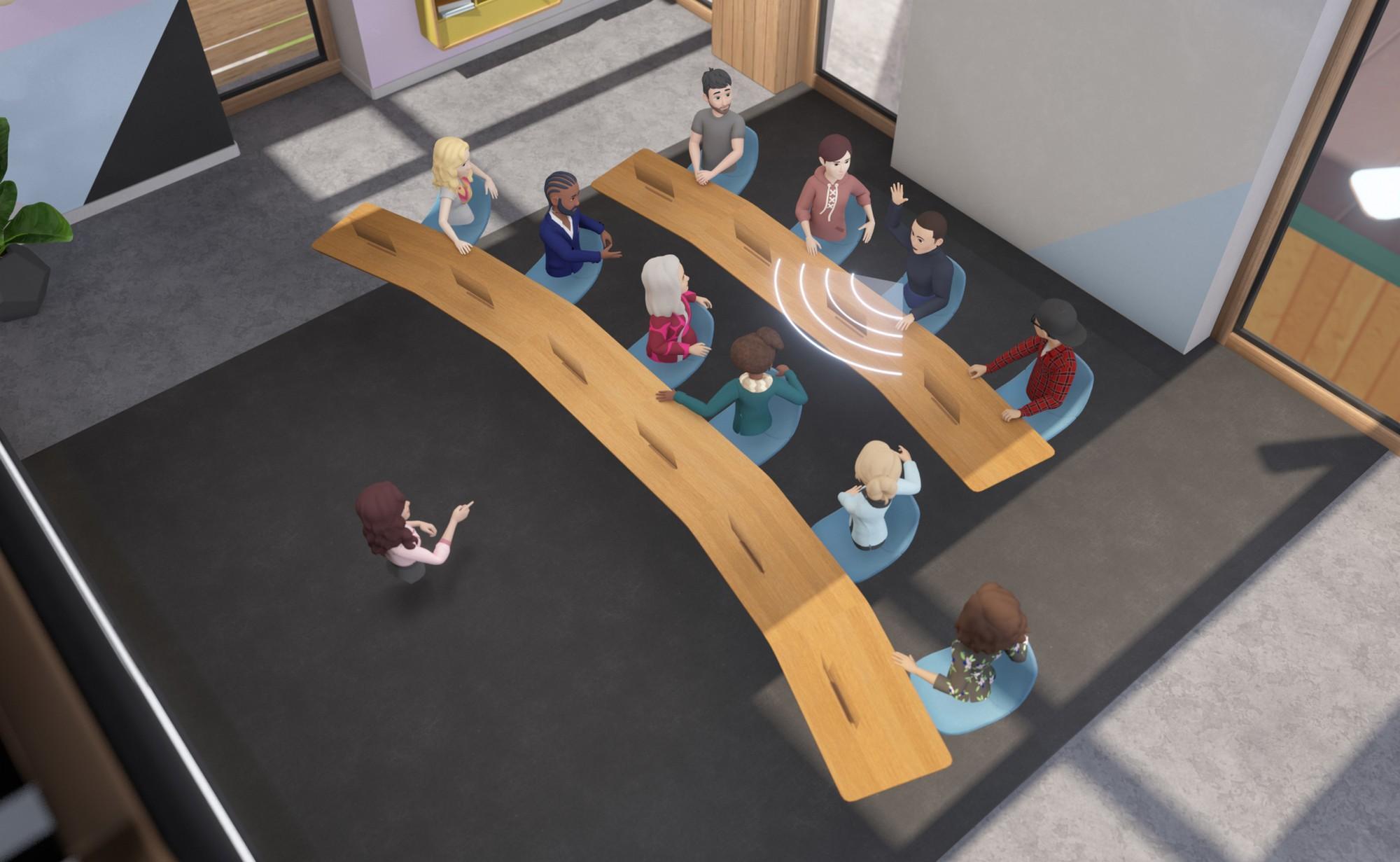 Facebook Announces Workrooms, a Collaborative VR Space