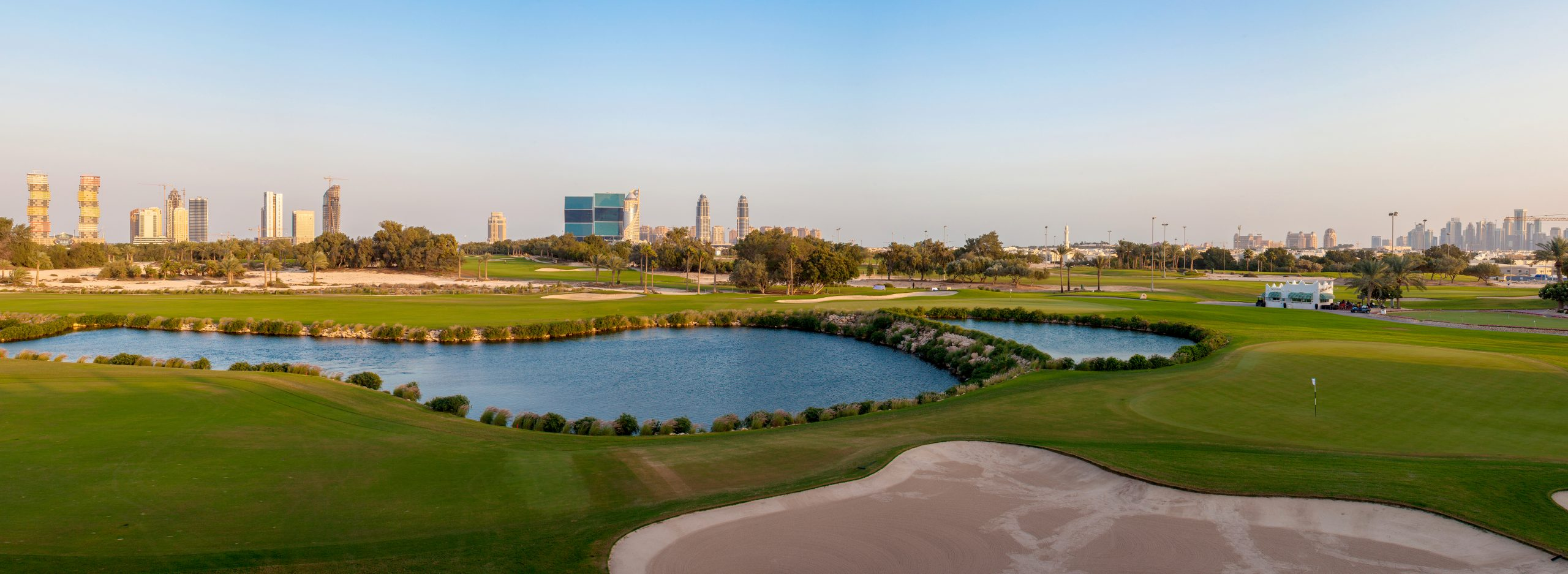CNN: Doha Golf Club; A green oasis in the heart of Doha