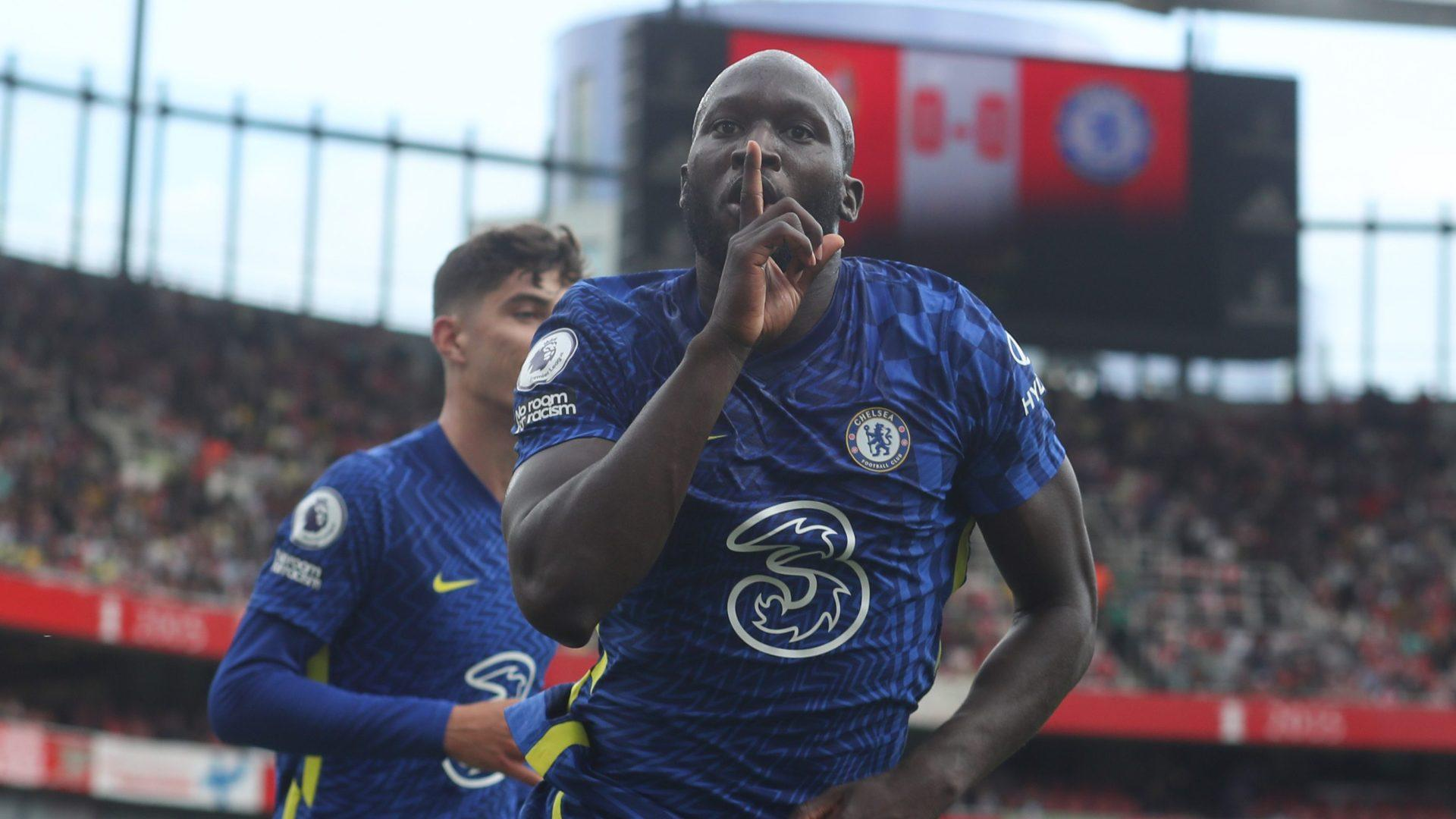 Lukaku bullies Arsenal into submission for Chelsea