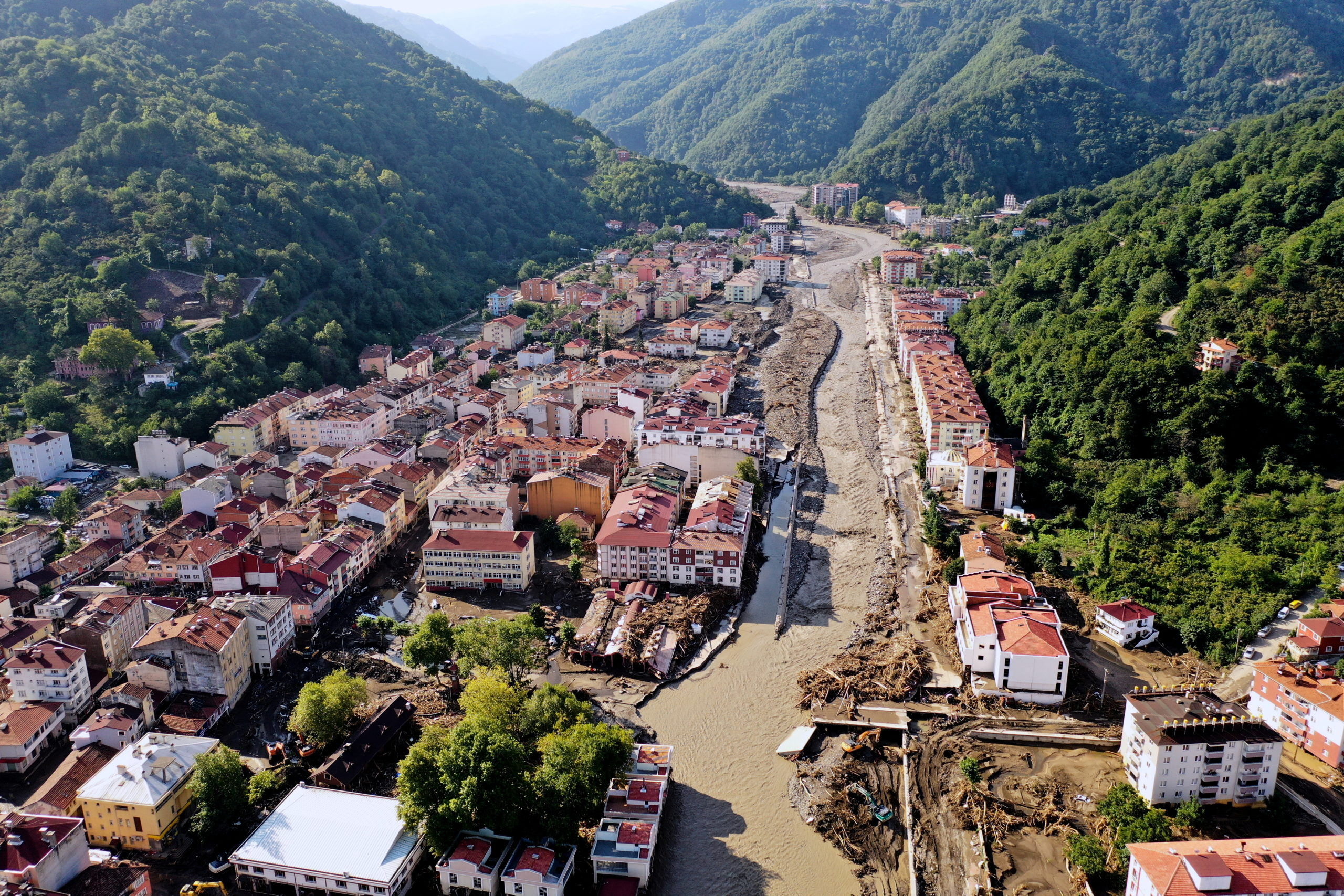 Death Toll from Northern Turkey Floods Rises to 62
