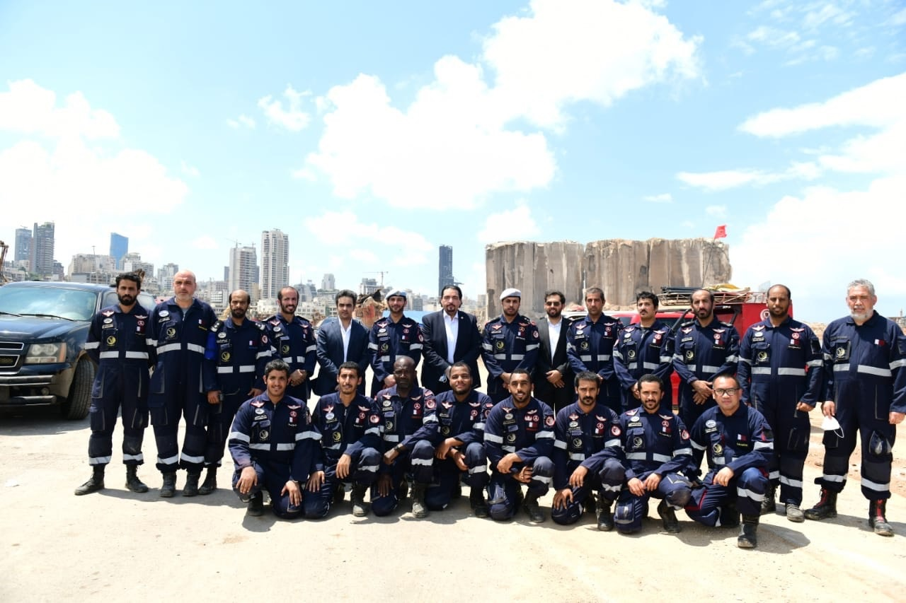 Here are the top 7 information about the Qatari Search and Rescue Team