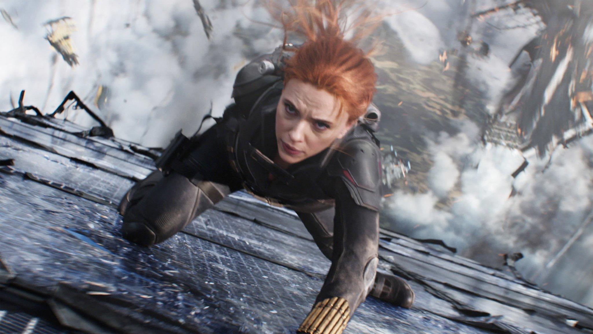 'Black Widow' helps Disney collect $125 million in online revenue