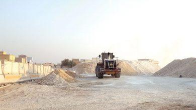 Al-Dafan worksite disturbs the residents of Jaryan Njeima