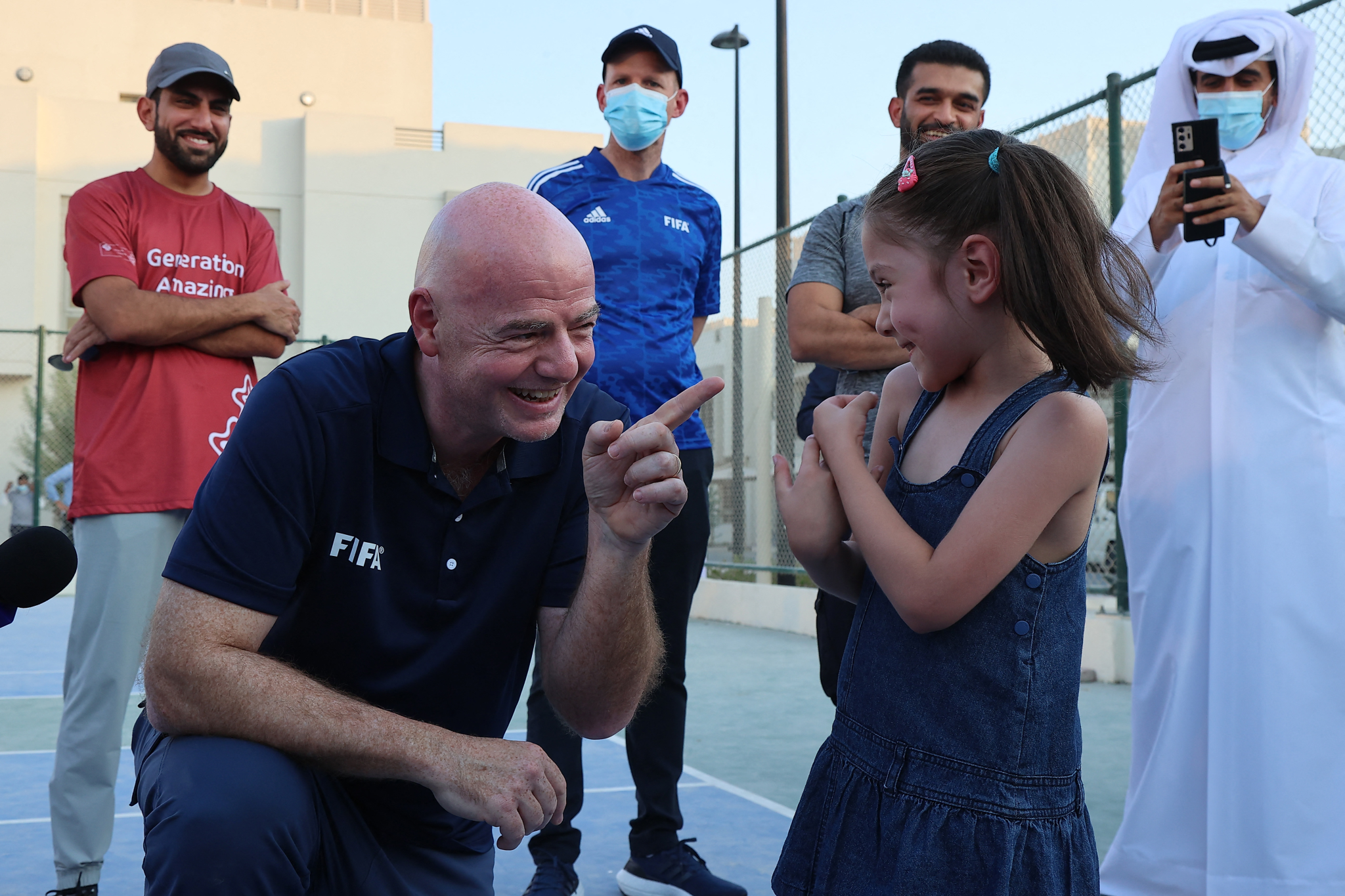 Hosting Afghans in one of the World Cup facilities makes us proud: Infantino